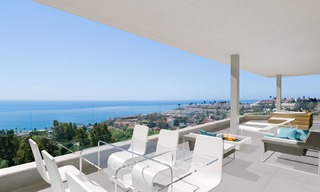 Sunny, modern luxury apartments for sale, with unobstructed sea views, Fuengirola, Costa del Sol 5840