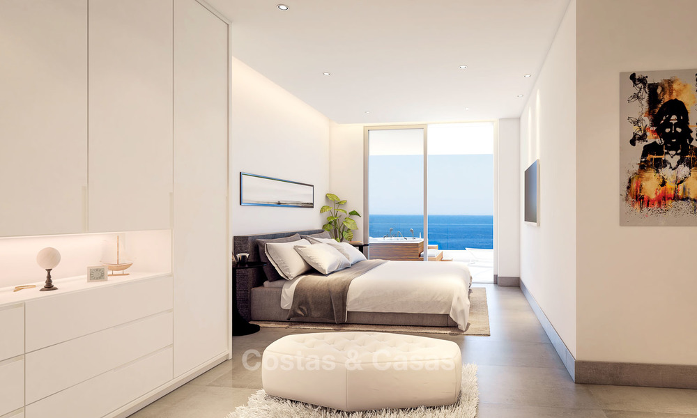 Sunny, modern luxury apartments for sale, with unobstructed sea views, Fuengirola, Costa del Sol 5841