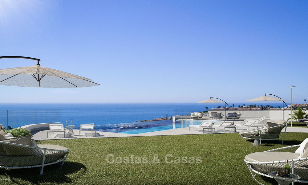 Sunny, modern luxury apartments for sale, with unobstructed sea views, Fuengirola, Costa del Sol 5843