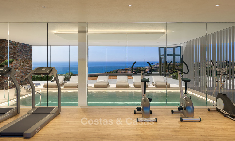 Sunny, modern luxury apartments for sale, with unobstructed sea views, Fuengirola, Costa del Sol 5844