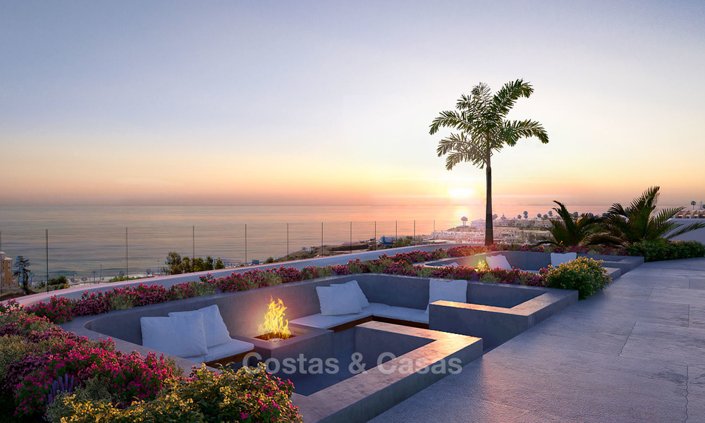 Sunny, modern luxury apartments for sale, with unobstructed sea views, Fuengirola, Costa del Sol 5846