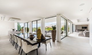 Spectacular high-end luxury villa for sale, turnkey, with panoramic sea, golf and mountain views, Benahavis - Marbella 5853