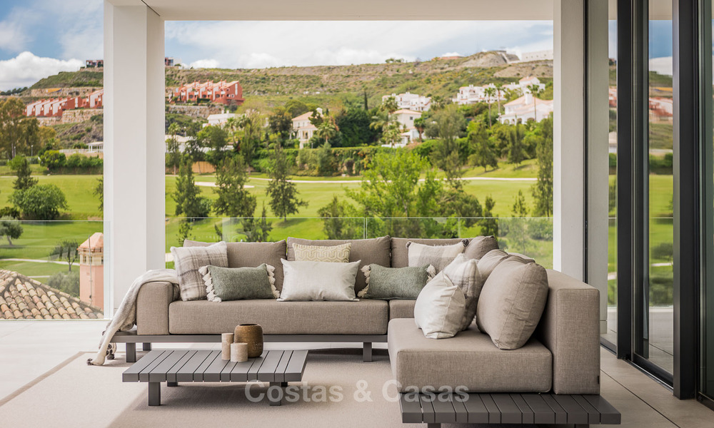 Spectacular high-end luxury villa for sale, turnkey, with panoramic sea, golf and mountain views, Benahavis - Marbella 5869