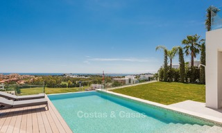 Turnkey exclusive high-end designer villa for sale, with panoramic sea, golf and mountain views, Benahavis - Marbella 5875