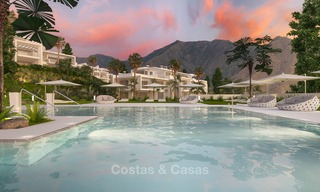 Luxury modern apartments for sale, in an exclusive complex with private lagoon, Casares, Costa del Sol 5916