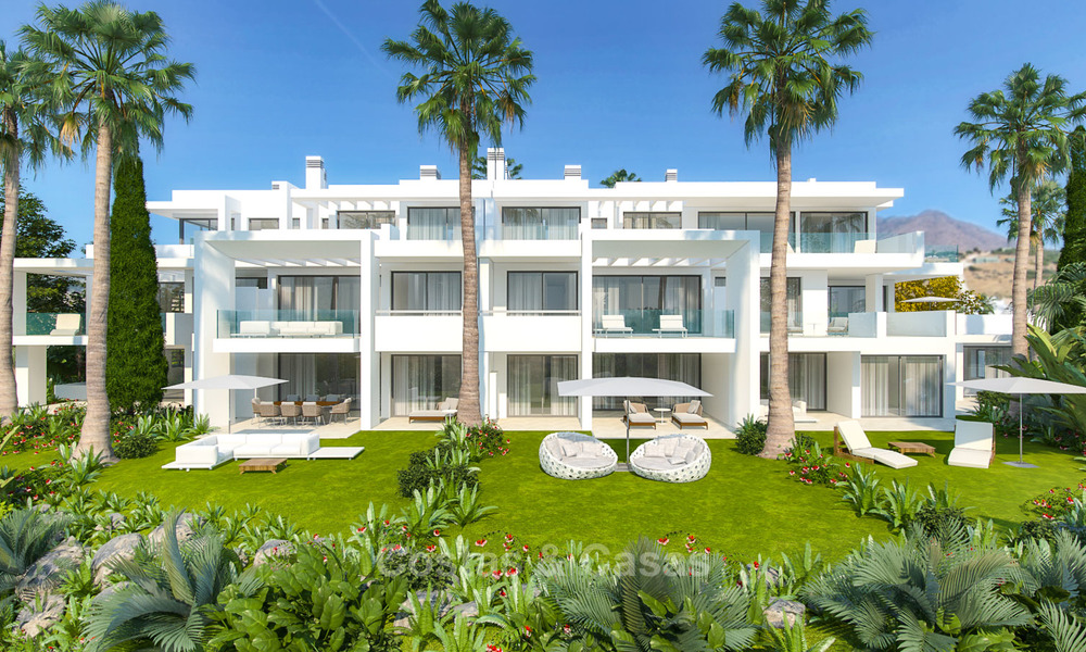 Luxury modern apartments for sale, in an exclusive complex with private lagoon, Casares, Costa del Sol 5918