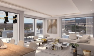 Luxury modern apartments for sale, in an exclusive complex with private lagoon, Casares, Costa del Sol 5920