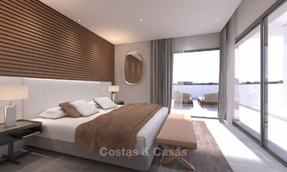 Luxury modern apartments for sale, in an exclusive complex with private lagoon, Casares, Costa del Sol 5922