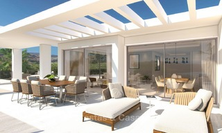 Luxury modern apartments for sale, in an exclusive complex with private lagoon, Casares, Costa del Sol 5927