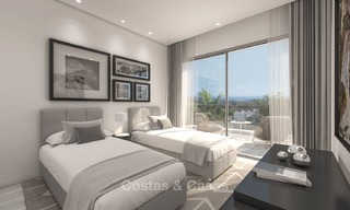 Luxury modern apartments for sale, in an exclusive complex with private lagoon, Casares, Costa del Sol 5931