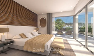 Luxury modern apartments for sale, in an exclusive complex with private lagoon, Casares, Costa del Sol 5932