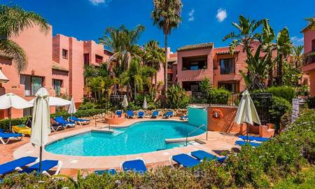 Spacious beach side penthouse apartment for sale, in a luxurious complex, Elviria, Marbella 5999