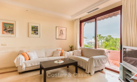 Spacious beach side penthouse apartment for sale, in a luxurious complex, Elviria, Marbella 6005