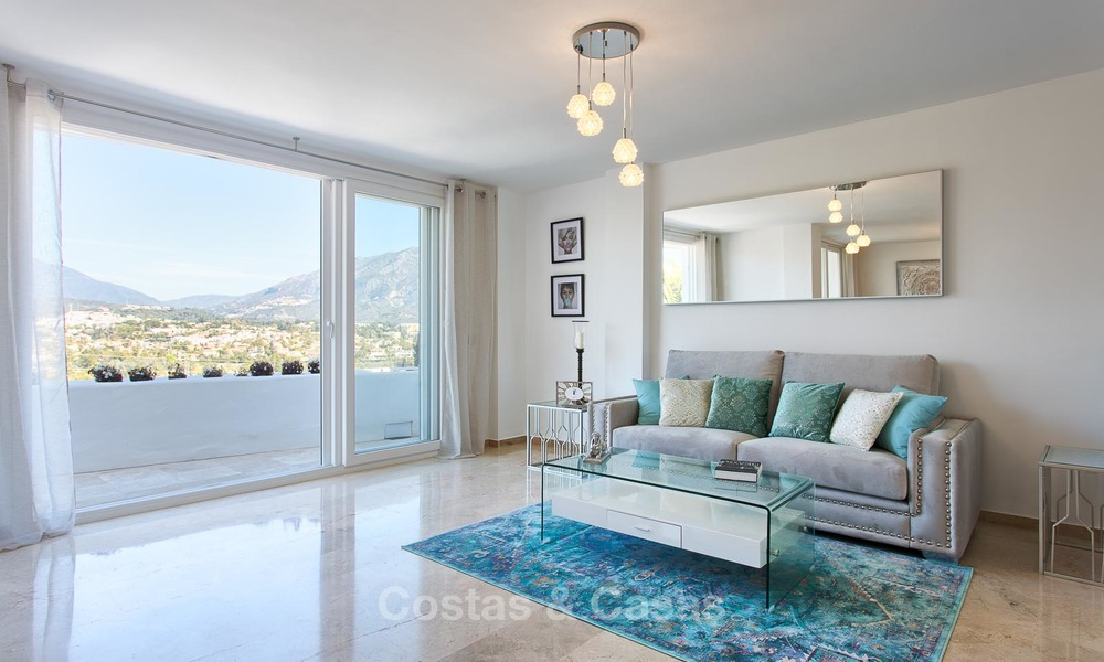 Cosy and bright apartment for sale, recently renovated, Nueva Andalucía, Marbella 6046