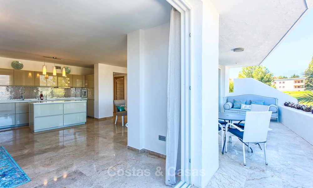 Cosy and bright apartment for sale, recently renovated, Nueva Andalucía, Marbella 6056