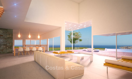 Unique and exclusive, avant-garde villa for sale, with panoramic sea views, Benalmadena, Costa del Sol 6092
