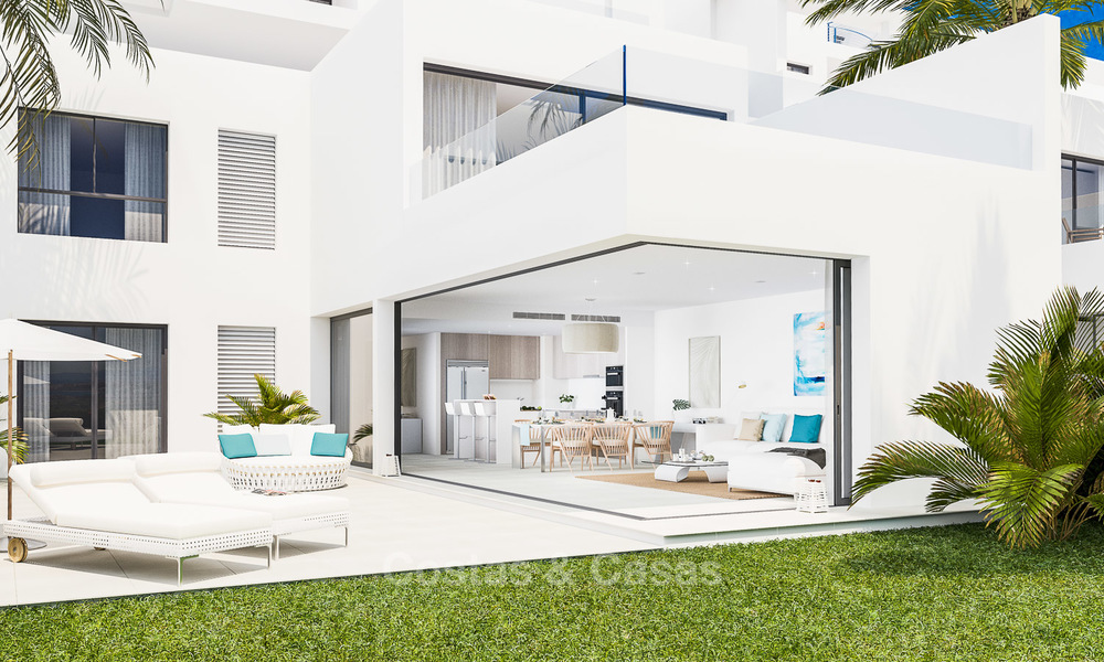 New avant-garde townhouses for sale, breath taking sea views, Casares, Costa del Sol 6100