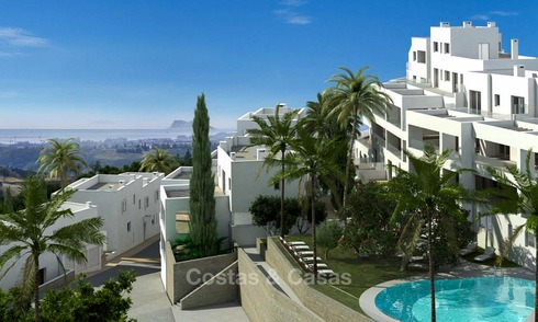 Attractive new apartments with stunning sea views for sale, Marbella 6125