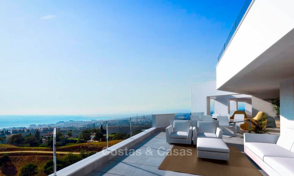 Attractive new apartments with stunning sea views for sale, Marbella 6131
