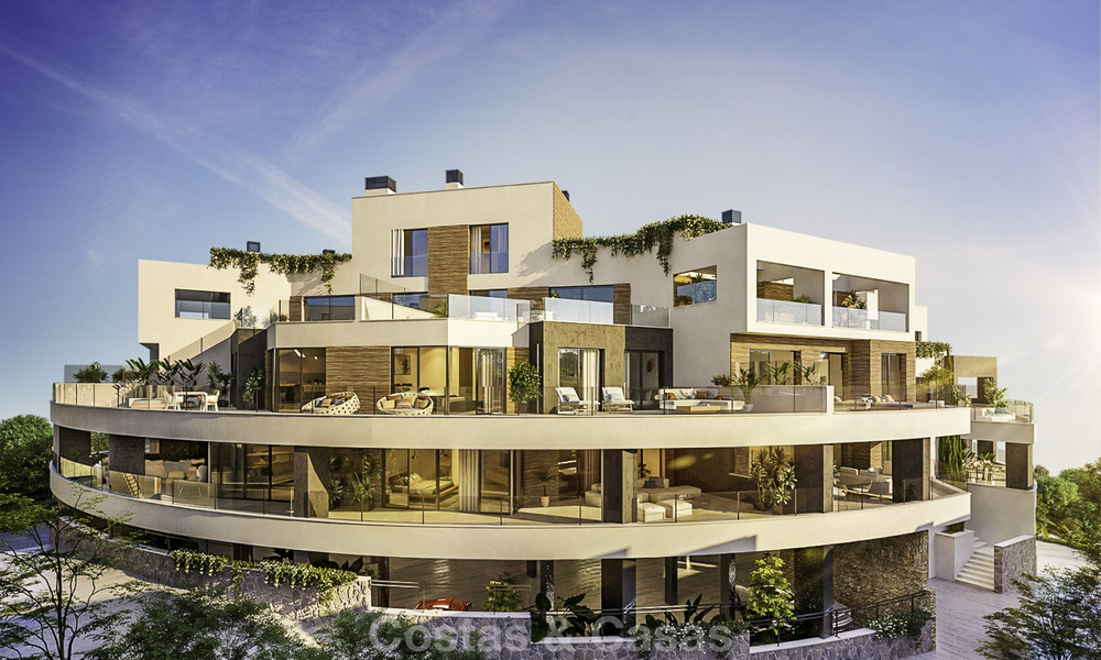 Attractive new apartments with stunning sea views for sale, Marbella. Completed! 19166