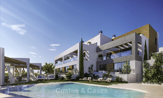 Attractive new apartments with stunning sea views for sale, Marbella. Completed! 19167