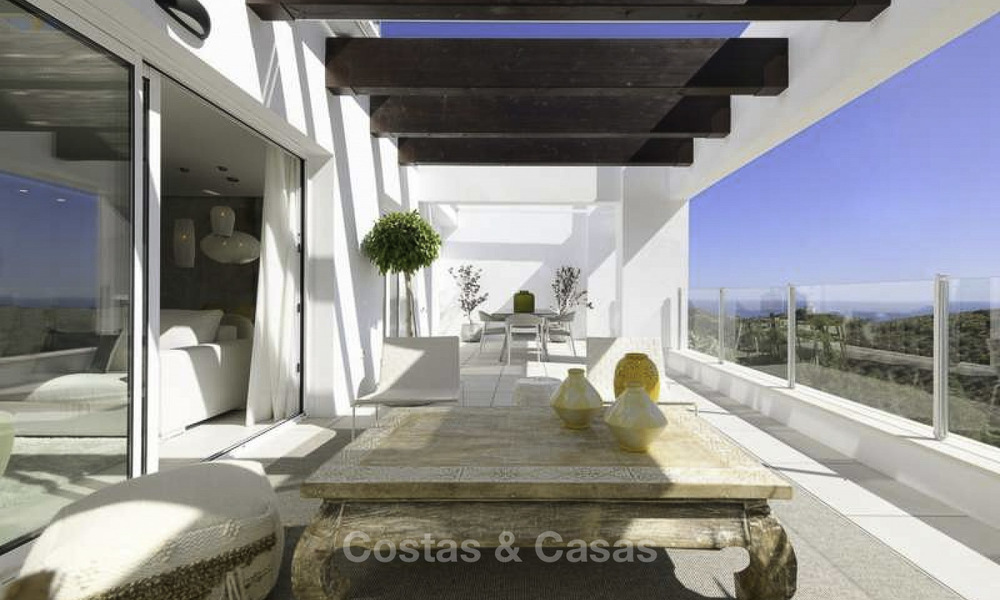 Attractive new apartments with stunning sea views for sale, Marbella. Completed! 19170