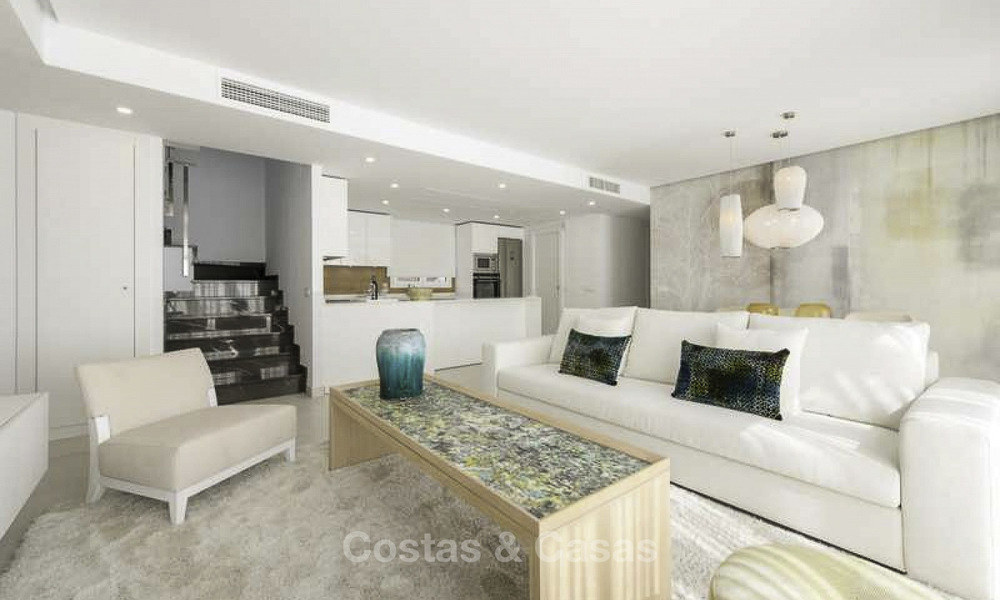 Attractive new apartments with stunning sea views for sale, Marbella. Completed! 19171