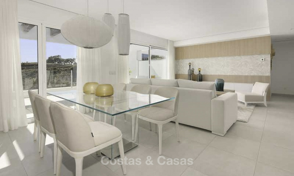 Attractive new apartments with stunning sea views for sale, Marbella. Completed! 19172