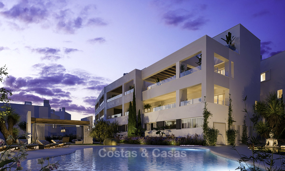 Attractive new apartments with stunning sea views for sale, Marbella. Completed! 19183