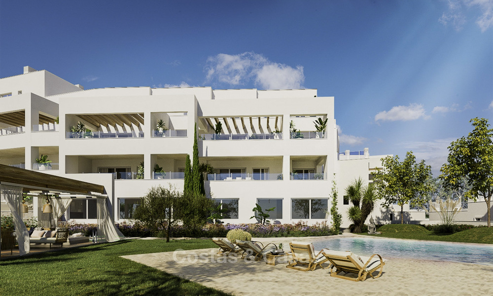 Attractive new apartments with stunning sea views for sale, Marbella. Completed! 19185