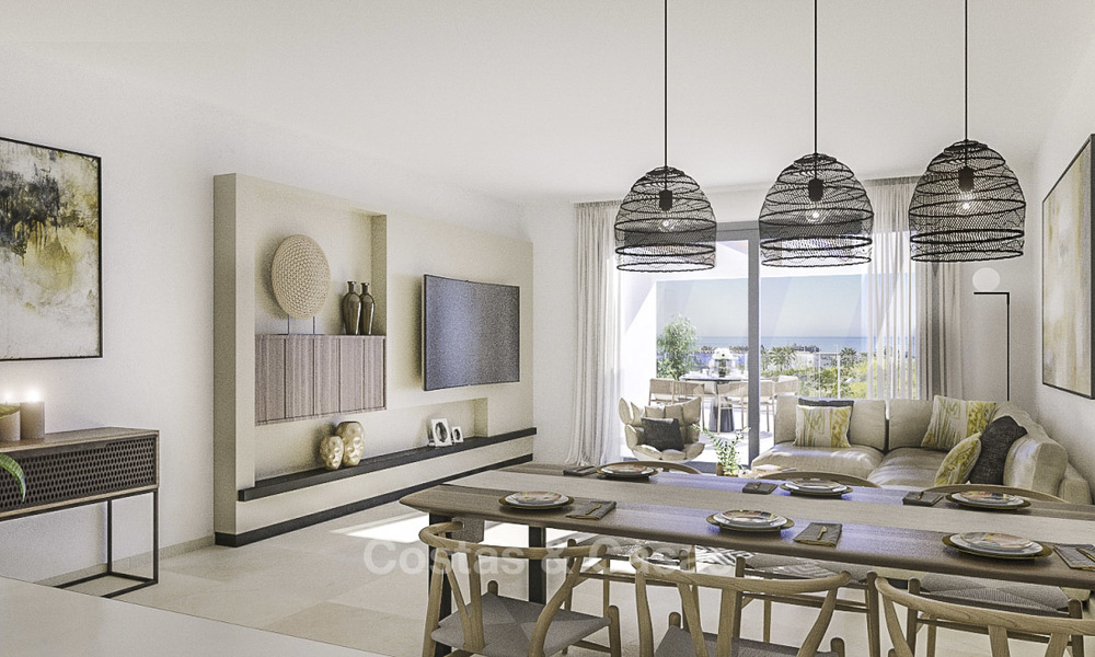 Attractive new apartments with stunning sea views for sale, Marbella. Completed! 19189
