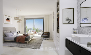 Attractive new apartments with stunning sea views for sale, Marbella. Completed! 19190