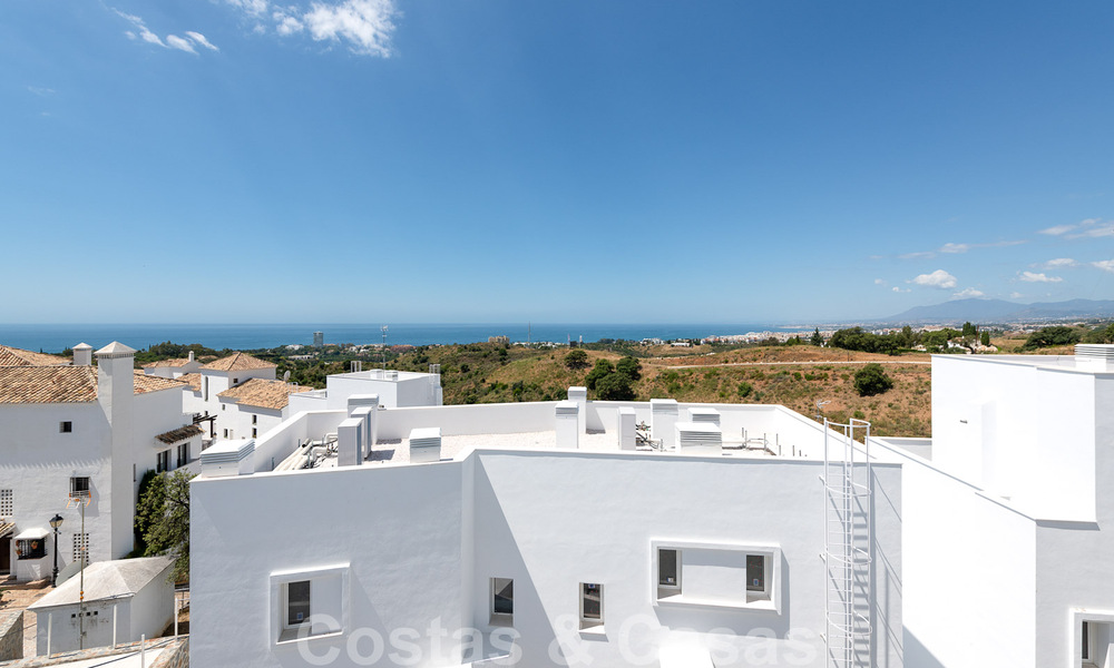 Attractive new apartments with stunning sea views for sale, Marbella. Completed! 29169