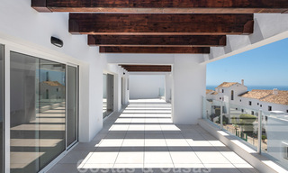 Attractive new apartments with stunning sea views for sale, Marbella. Completed! 29171