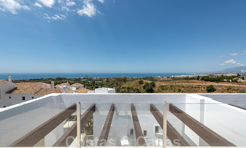 Attractive new apartments with stunning sea views for sale, Marbella. Completed! 29172