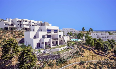 Ravishing avant-gardist apartments with stunning sea views for sale, Marbella East, Marbella 6275