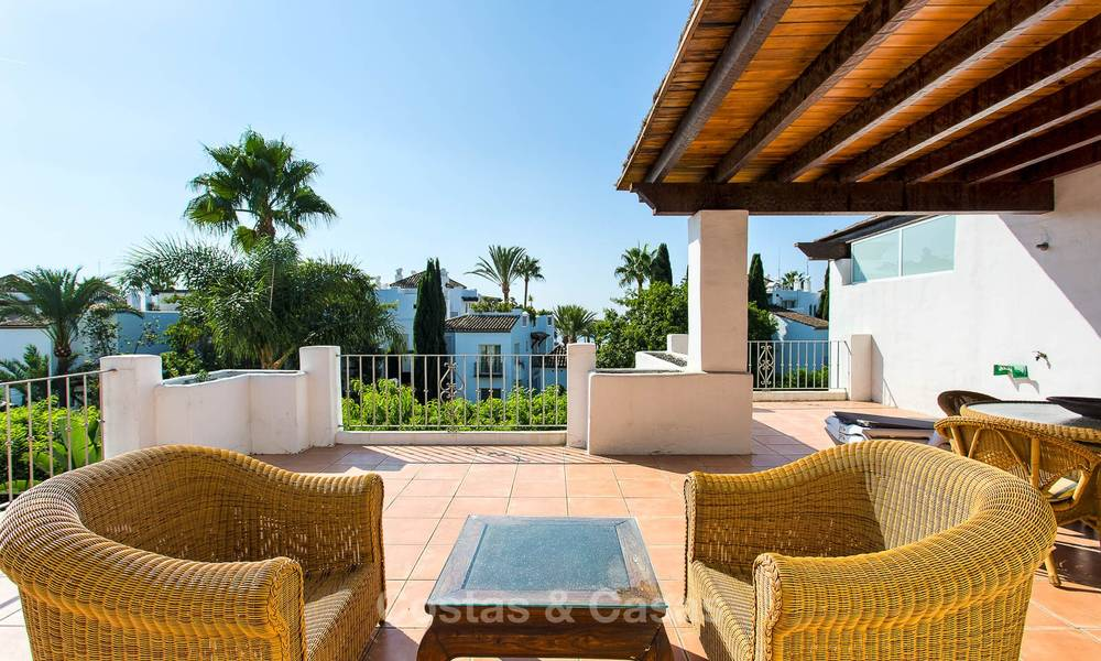Lovely, spacious beach front penthouse apartment for sale, New Golden Mile, Estepona 6179