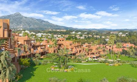 Charming new Andalusian-style apartments for sale, Golf Valley, Nueva Andalucia, Marbella 6210