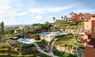 Charming new Andalusian-style apartments for sale, Golf Valley, Nueva Andalucia, Marbella 6211