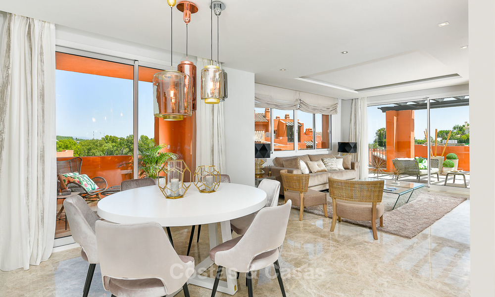 Charming new Andalusian-style apartments for sale, Golf Valley, Nueva Andalucia, Marbella 6212