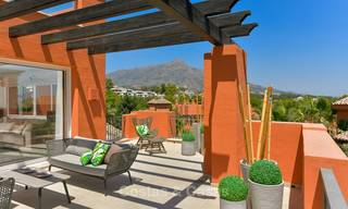 Charming new Andalusian-style apartments for sale, Golf Valley, Nueva Andalucia, Marbella 6213