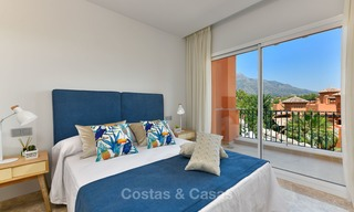 Charming new Andalusian-style apartments for sale, Golf Valley, Nueva Andalucia, Marbella 6214