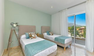 Charming new Andalusian-style apartments for sale, Golf Valley, Nueva Andalucia, Marbella 6215
