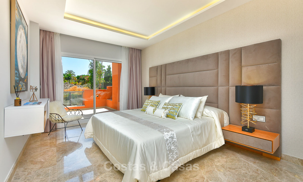 Charming new Andalusian-style apartments for sale, Golf Valley, Nueva Andalucia, Marbella 6217