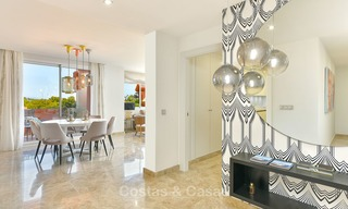 Charming new Andalusian-style apartments for sale, Golf Valley, Nueva Andalucia, Marbella 6219