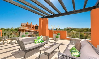 Charming new Andalusian-style apartments for sale, Golf Valley, Nueva Andalucia, Marbella 6222