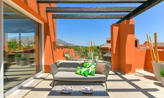 Charming new Andalusian-style apartments for sale, Golf Valley, Nueva Andalucia, Marbella 6223