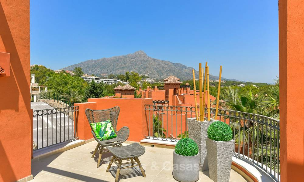 Charming new Andalusian-style apartments for sale, Golf Valley, Nueva Andalucia, Marbella 6224