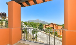 Charming new Andalusian-style apartments for sale, Golf Valley, Nueva Andalucia, Marbella 6230
