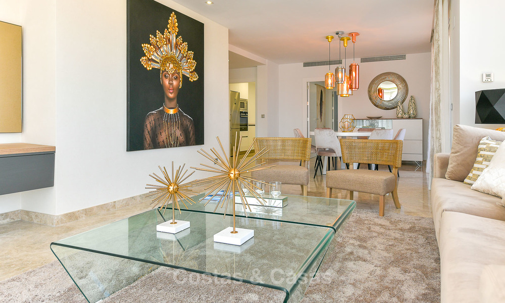 Charming new Andalusian-style apartments for sale, Golf Valley, Nueva Andalucia, Marbella 6234